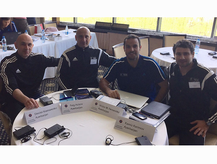 Goalkeeper coaches are at UEFA Workshop (photos)