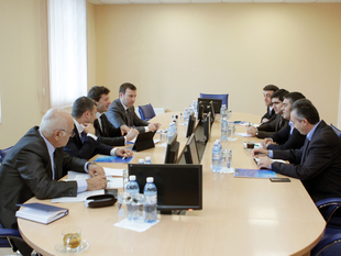 Andrea Traverso held meetings in AFFA (photos)