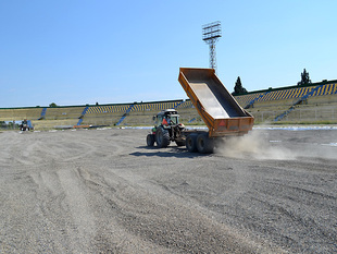 The hybrid grass changing process is going on (photos)