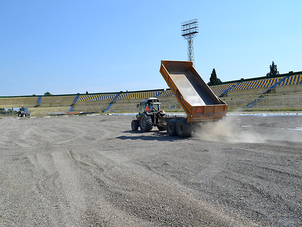 The hybrid grass changing process is going on (photos)}