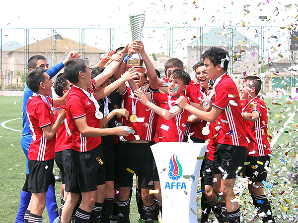 """""""Manchester United"""" is the winner of U14 League }"""