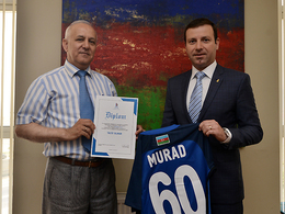 Anniversary greetings to Murad Mammadov