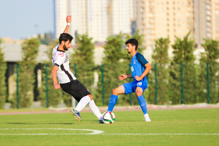 Azerbaijan U-19 played a control match (photos)
