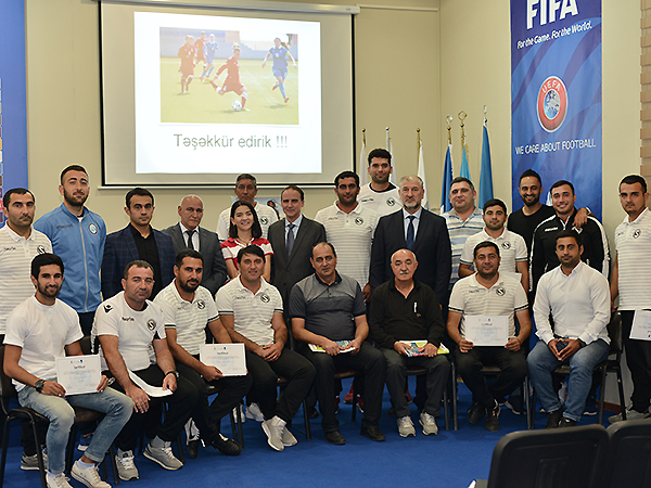 Professional trainings for coaches held in Baku (photos)