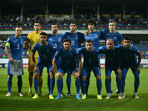 Azerbaijan's squad for two away matches