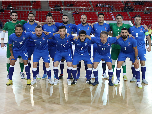 Azerbaijan's squad for the World Cup main round matches}