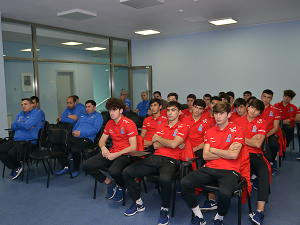 A seminar on fixed games was held for the members of U-19 (photos)