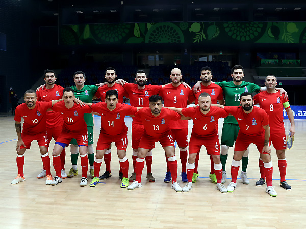 The squad of National Team (Futsal) for the elite round