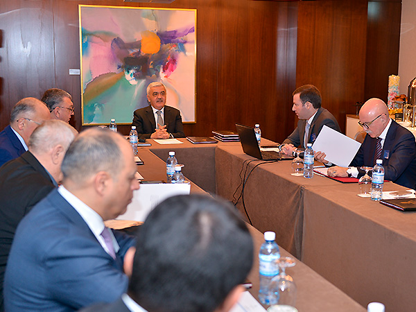The first meeting of the Executive Committee in new composition was held (photos)