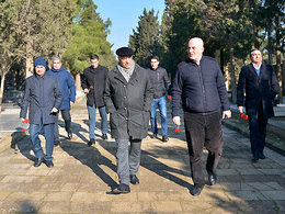 Tofig Bahramov's memory was commemorated (photos)