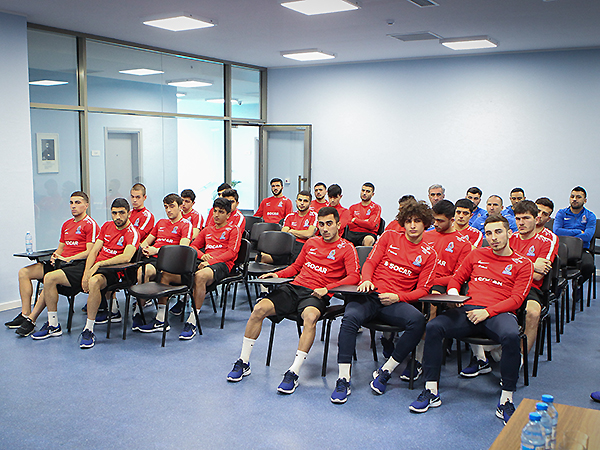 """A seminar on """"fixed"""" games was held for the members of U-21 (photos)"""