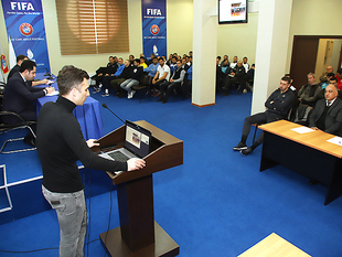 A meeting with coordinators and club representatives was held (photos)