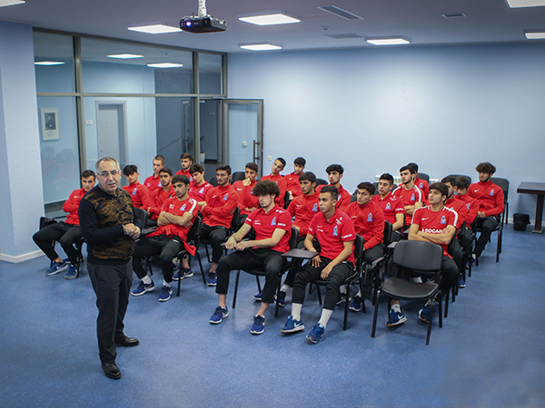 A training for U-19 members was held (photos)