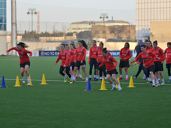 Training of the National Team (Women) (photos)