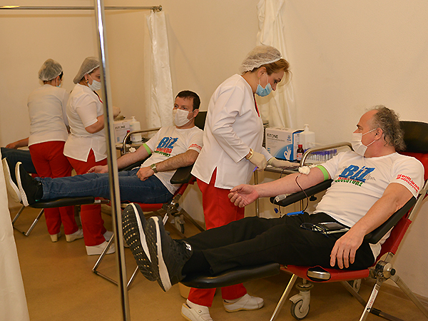 Blood donation campaign held at the initiative of AFFA (photos)