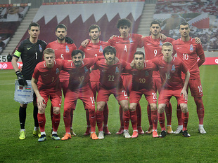 Our national team played against the national team of Qatar