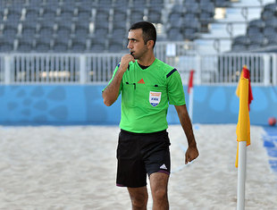 Ingilab Mammadov is on the list of nominated referees for the World Cup