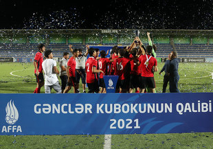 Gabala is the winner of the Youth Cup (photos)