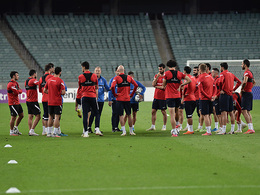 Open for media training of the national team (photos)